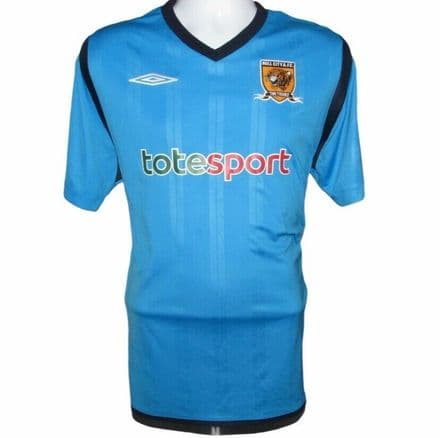 2009-2010 Hull City Away Football Shirt, Umbro, Large (Very Good Condition)